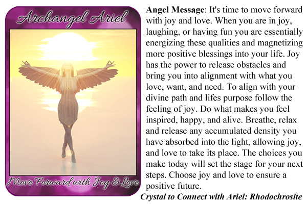 how to call upon archangel ariel