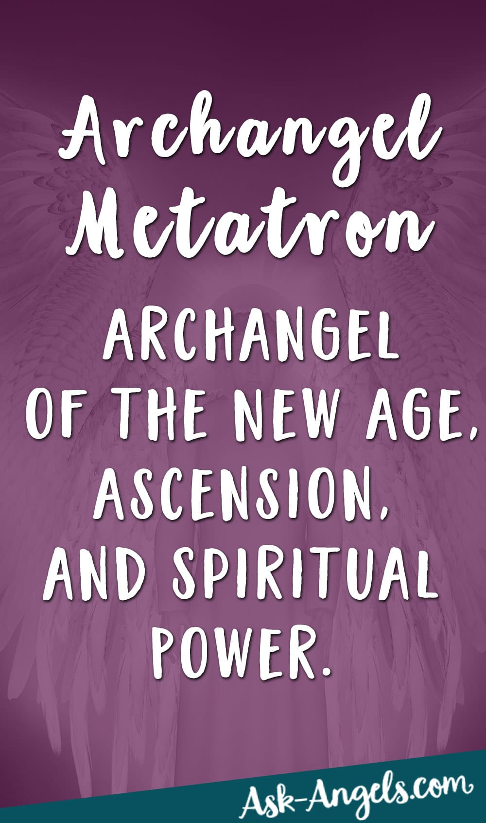 Archangel Metatron- Archangel of the New Age