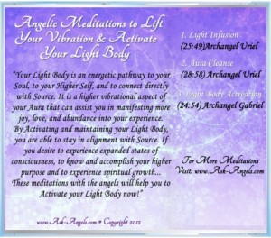 Angel CD, Light Body Activation