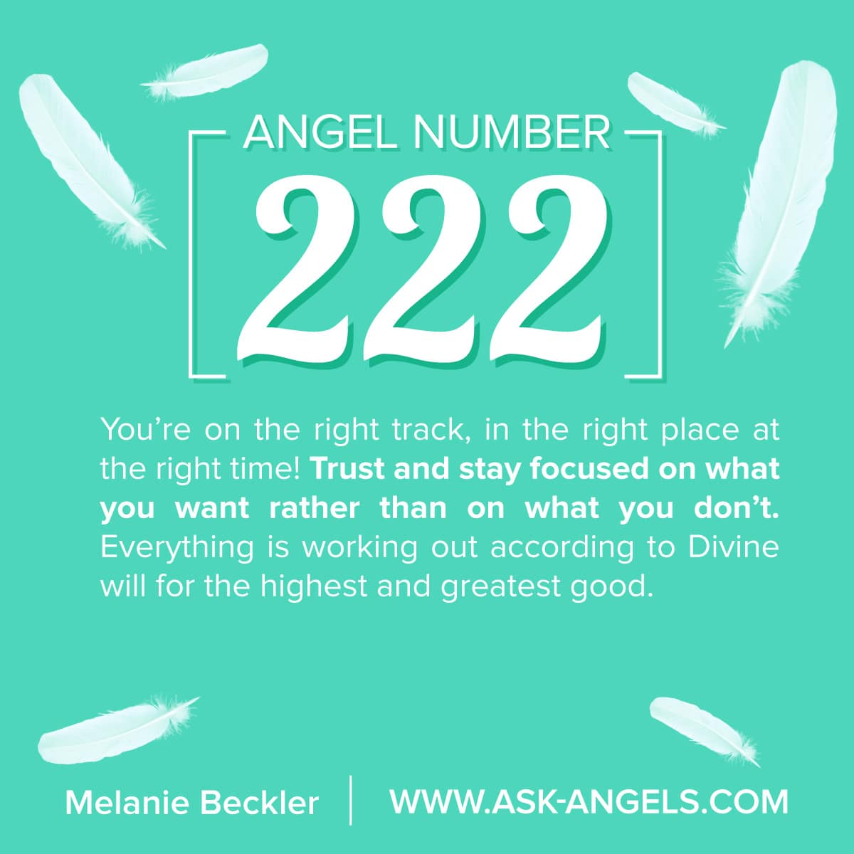 Angel Number 222: What's The Meaning Of 222? Get Your ... - photo#50