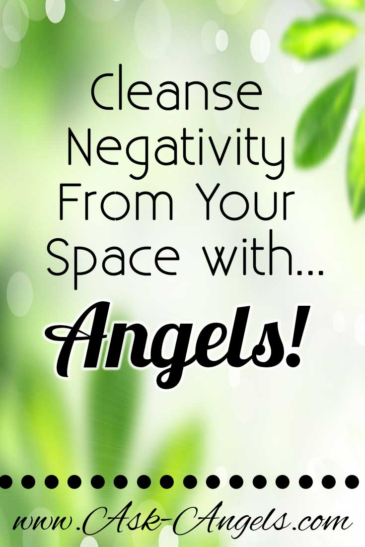 Energy Clearing With Positive Energy From The Angels