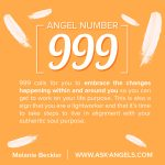 Angel Number 999. What Does It Mean?