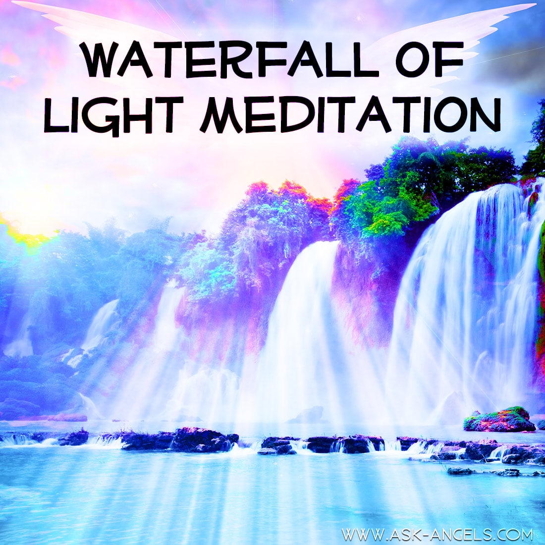 Waterfall Meditation with Archangel Haniel