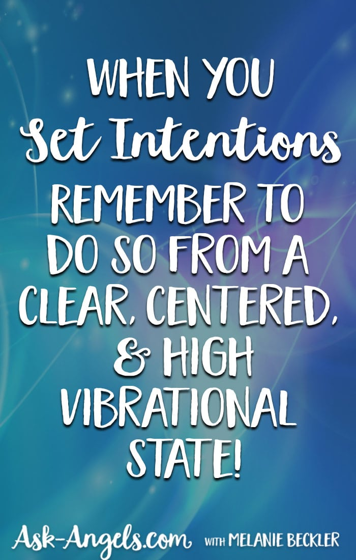 Intention Setting