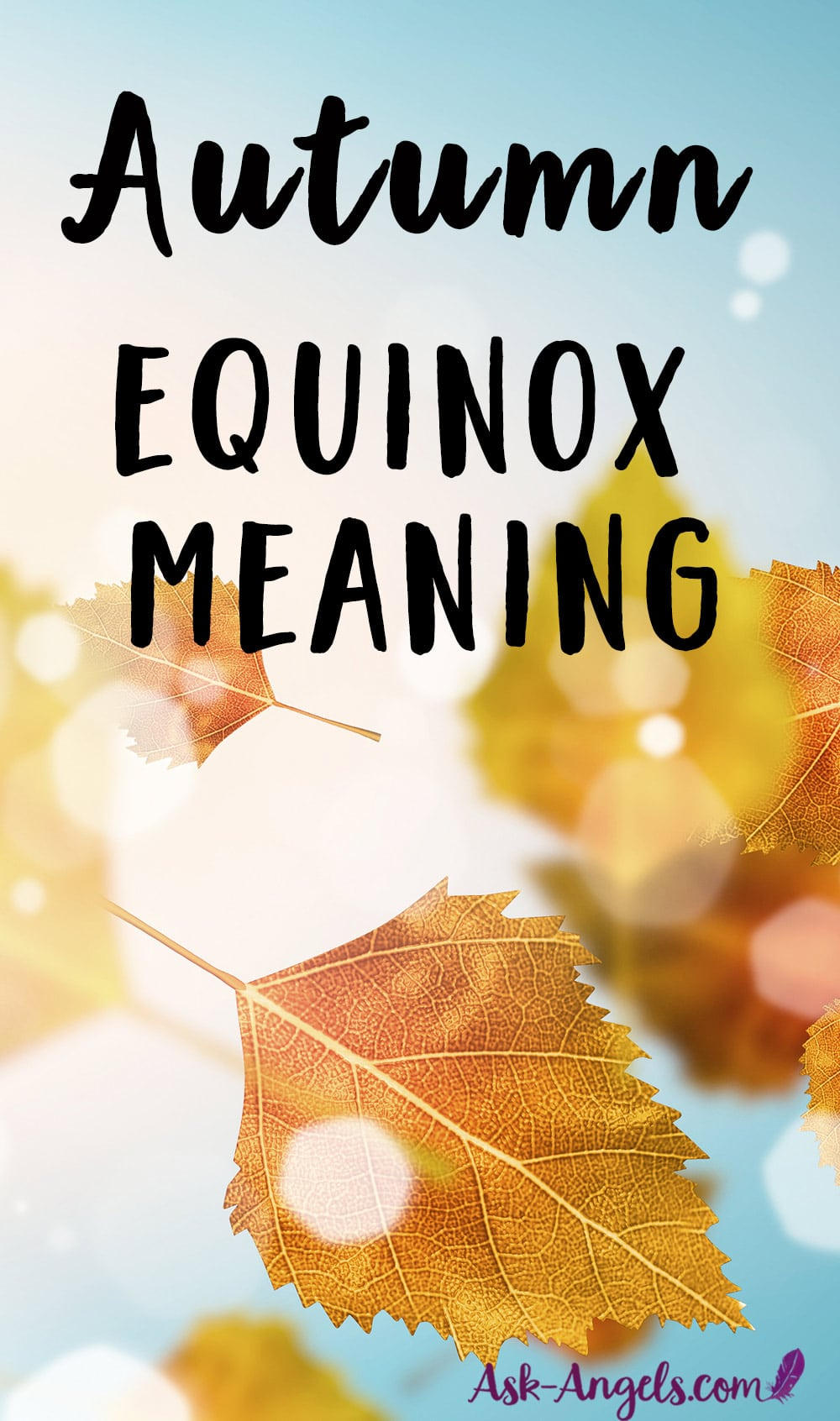 Autumn Equinox Meaning