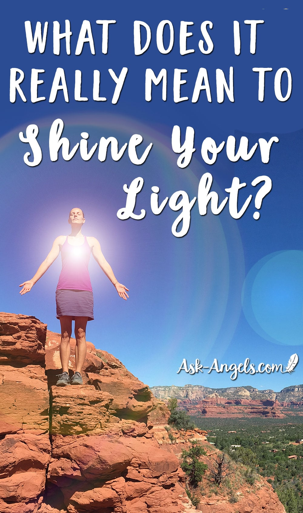 What does it mean to shine your light by melanie beckler and becoming a lighthouse of for What does mean lit